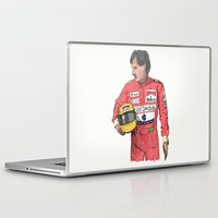 senna Laptop & iPad Skins featuring SENNA  by calds29
