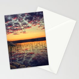 Morning reflection Stationery Cards