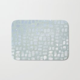 Frozen ice chic Bath Mat