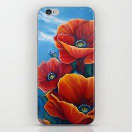 Poppy Breeze iPhone Skin