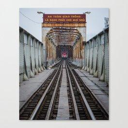 Hanoi Train Canvas Print