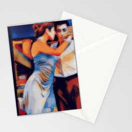 Tango Bar La Boca Buenos Aires Stationery Cards