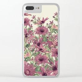 Vintage Garden 42 Clear iPhone Case