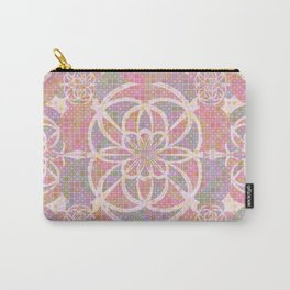 Violet red geometry Carry-All Pouch