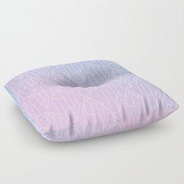 Crystal Pattern Floor Pillow