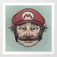 It'sa Me! Mario! Art Print