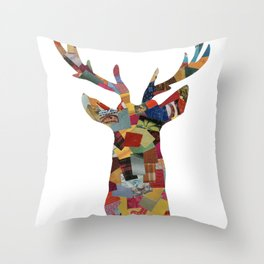 The Stag Throw Pillow