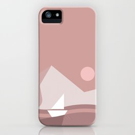 Caravel, Catenary, Crag, Canal iPhone Case