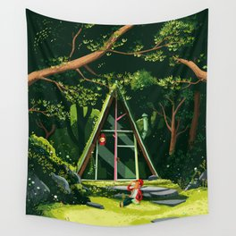 The Hideout – Day Version Wall Tapestry