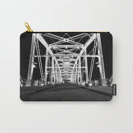 Shelby Street Bridge At Night Carry-All Pouch