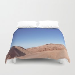 Four-Wheel-Driving Through the Pinks and Blues of Antelope Canyon 03 Duvet Cover