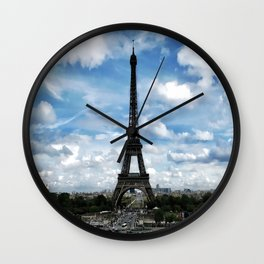 Paris France Wall Clock