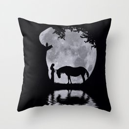 Nothing As Strong as Gentleness Throw Pillow