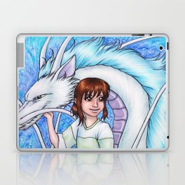 Spirited Away Chihiro and Haku Laptop & iPad Skin