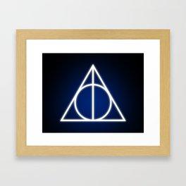 The Hallows Framed Art Print