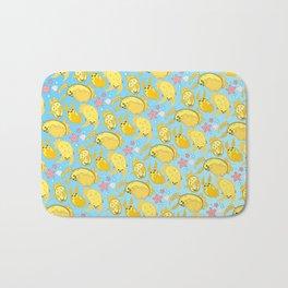 Silly Sea Lemons Bath Mat