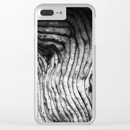 Liquid Wood Clear iPhone Case