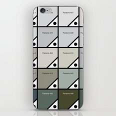 50 Shades Of Pantone Grey iPhone & iPod Skin