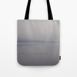 Tufted Duck on Lough Melvin Tote Bag