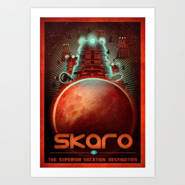 Visit Skaro! Art Print