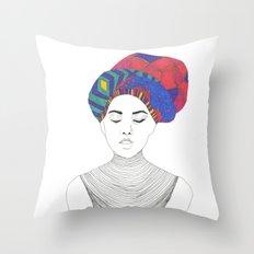 Fashion Illustration 1  Throw Pillow