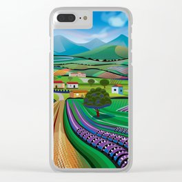 Morning in Avocado Hills Clear iPhone Case