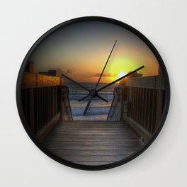 Grandview Sunset Wall Clock