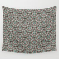 islam Wall Tapestries featuring Endless mandala by Rceeh