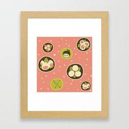 Dim Sum Framed Art Print