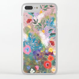 Mixed bouquet of flowers Clear iPhone Case