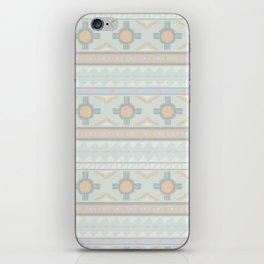 Desert Stripes No. 3 in Sage Bush Green iPhone Skin