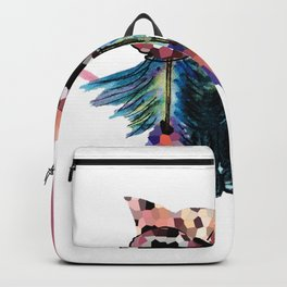 Owl with  Heart Backpack