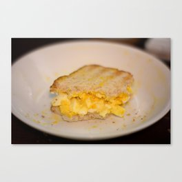 Egg salad with Oatmeal Toast Canvas Print