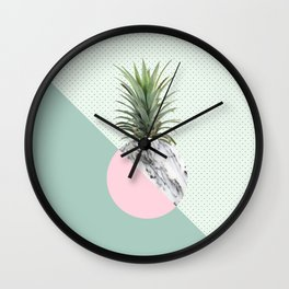 Fashion Pineapple I Wall Clock
