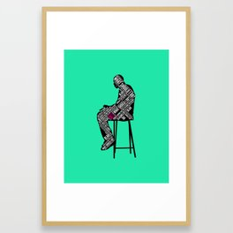 The Decision Framed Art Print
