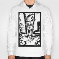 christ Hoodies featuring Zombie Christ by Dandy Jon