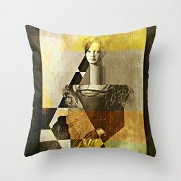 LucreziaV.9-Bronzino. Throw Pillow