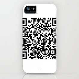 Rick never gives up iPhone Case