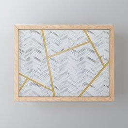 Refined Marble Framed Mini Art Print