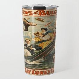 Vintage poster - Coney Island Travel Mug