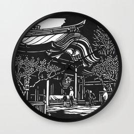 Dazaifu Tenmangu Wall Clock