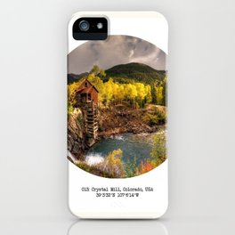 013: Crystal Mill, Colorado iPhone Case