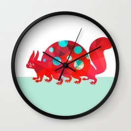 Oddities 2 - Tortoisquirrel Wall Clock