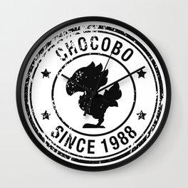 Chocobo since 1988 - Final Fantasy series Wall Clock