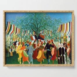 Henri Rousseau Centennial of Independence Serving Tray