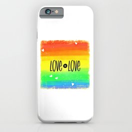 Gay (9) iPhone Case