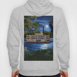 Mystcal Moonlight Cruise Down the Bayou Hoody