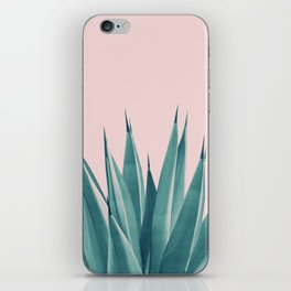 Blush Agave Dream #1 #tropical #decor #art #society6 iPhone Skin