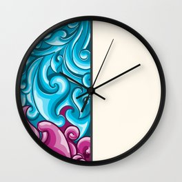 Khmer Ornnament Wall Clock