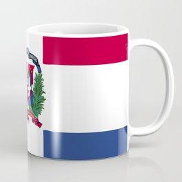Dominican Republic flag emblem Coffee Mug